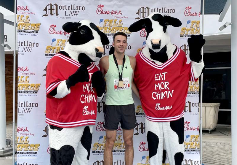 This past weekend the Children's Cancer Center held their 10th Annual Chick-Fil-A Fall Stampede and ARCO Murray was proud to be a sponsor again this year.