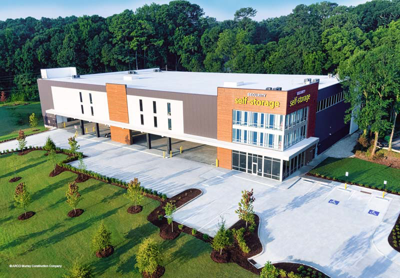 Security Self-Storage in Atlanta, Georgia was recently completed and ready to take on your storage needs.