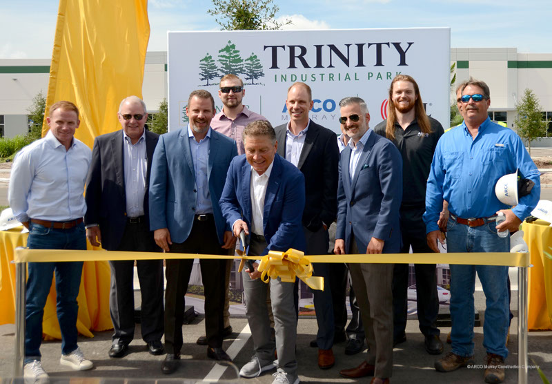 Trinity Industrial Park in Kissimmee, Florida recently held their ribbon cutting ceremony to celebrate their grand opening.